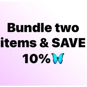 Bundle and save 🦋